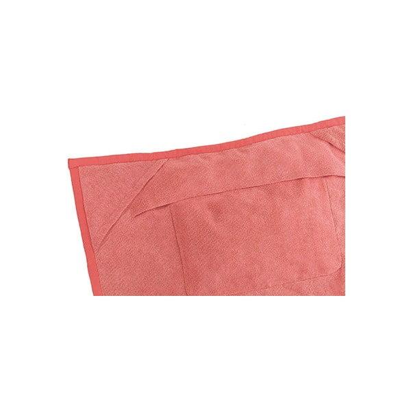 Růžová plážová osuška s rohovými kapsami Terra Nation One Moe,90x180cm