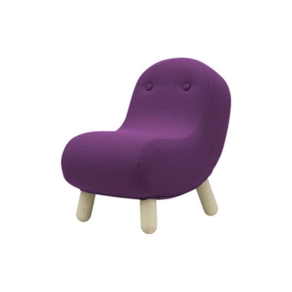 Fioletowy fotel Softline Bob Vision Purple