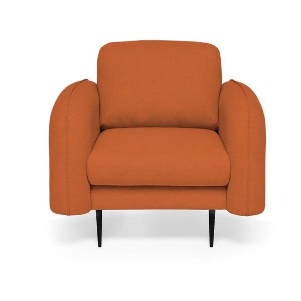 Ceglasty fotel Vivonita Skolm