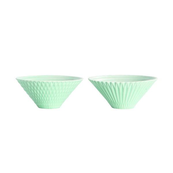 Set dvou keramických misek, mint