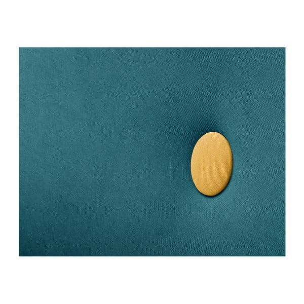 Tyrkysově-žluté křeslo Scandi by Stella Cadente Maison