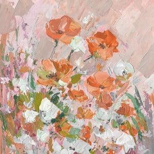 Obraz na plátně Marmont Hill Poppy, 61 x 61 cm