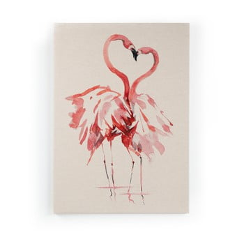 Tablou Surdic Flamingo, 50 x 70 cm imagine