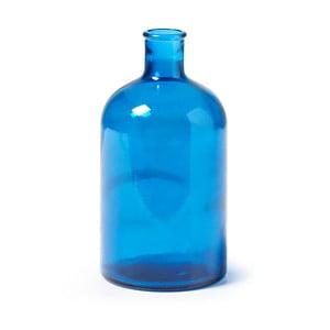 Modrá skleněná váza La Forma Semplice, výška22cm