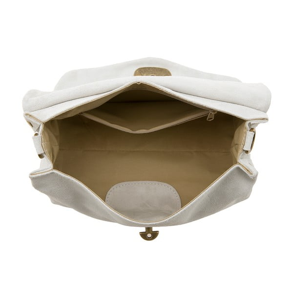 Kožená kabelka Italiana, white