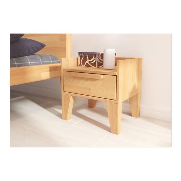Noční stolek z masivního bukového dřeva SKANDICA Agava