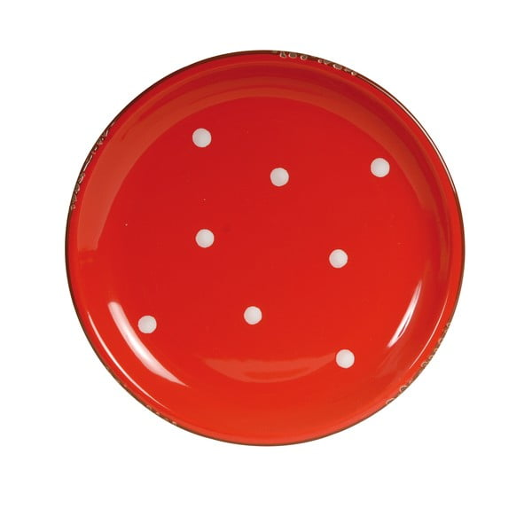 Talíř Round Red, 26 cm