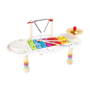 Dřevěný hudební stolek na hraní Legler Sound