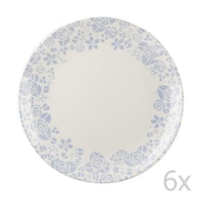Sada 6 talířů  Fledgling Border, 26 cm