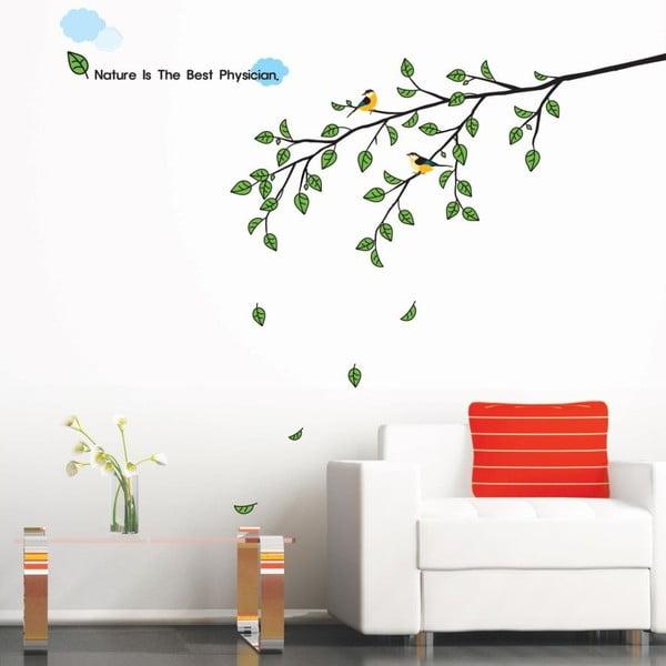 Samolepka Ambiance Tree and Bird Morning Tree