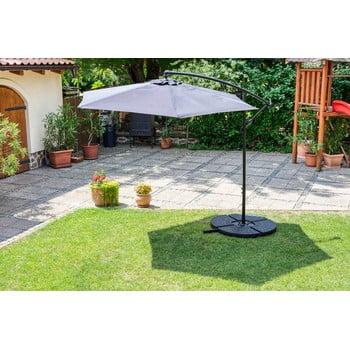 Suport cu apă pentru fixare umbrelă de soare Timpana H2O, 52 l, negru imagine