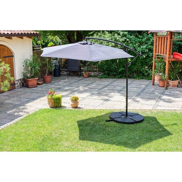 Suport cu apă pentru fixare umbrelă de soare Timpana H2O, 52 l, negru