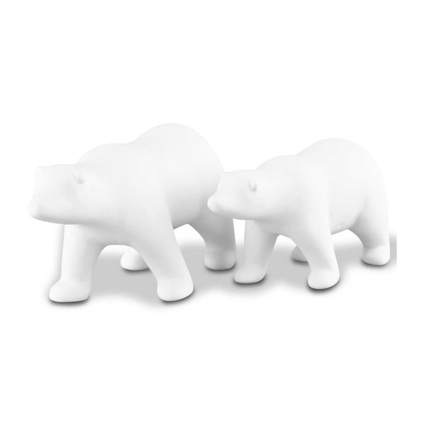 Sada 2 dekorativních medvědů Icebear