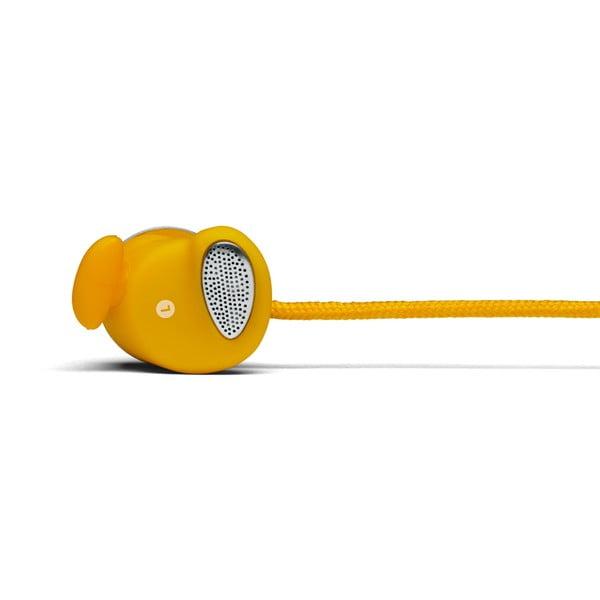 Sluchátka Plattan White + sluchátka Medis Mustard ZDARMA