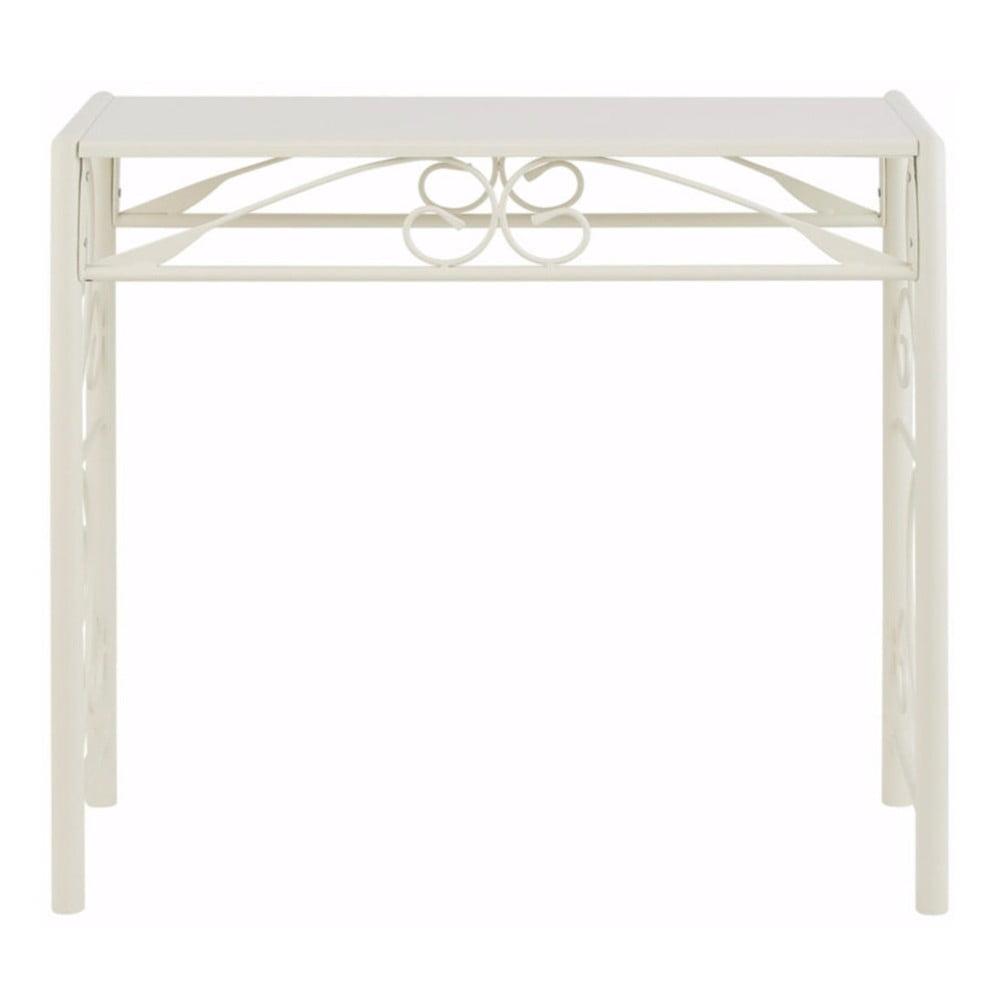Bílý konzolový stolek Støraa Isabelle