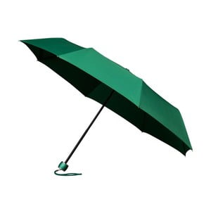 Větruodolný zelený skládací deštník Ambiance Mini-Max, ⌀100cm