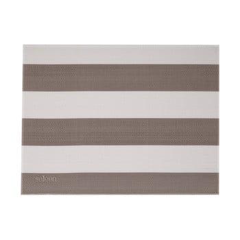 Suport farfurie Saleen Stripy, bej - alb