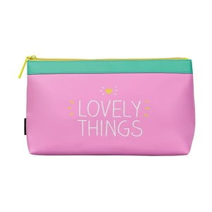 Růžová kosmetická taštička Happy Jackson Lovely Things
