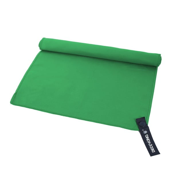 Zelená rychleschnoucí osuška DecoKing EKEA, 60 x 120 cm
