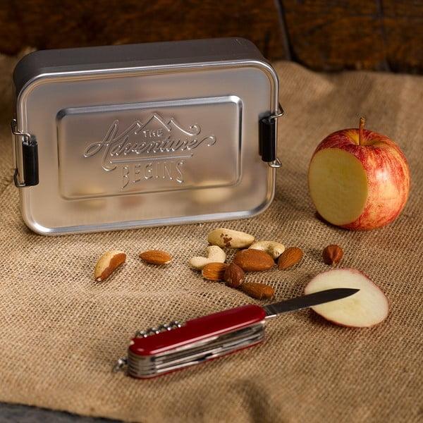 Box na svačinu Gentlemen's Hardware Silver Tin