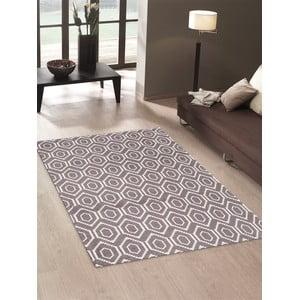 Vysoce odolný kuchyňský koberec Webtappeti Honeycomb Hazel,60x220cm