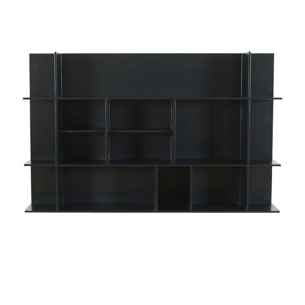 Nástěnná knihovna Panorama Black