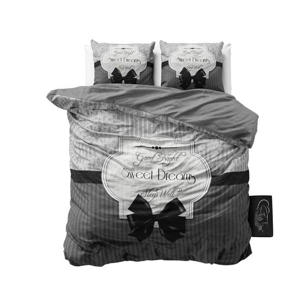 Povlečení Sweet Dreams 200x200 cm, šedé