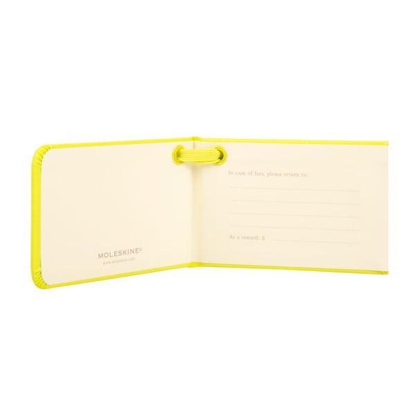 Visačka na kufr Lemon Green