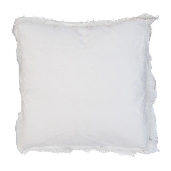 Povlak na polštář Clayre Fur, 50x50 cm, bílý