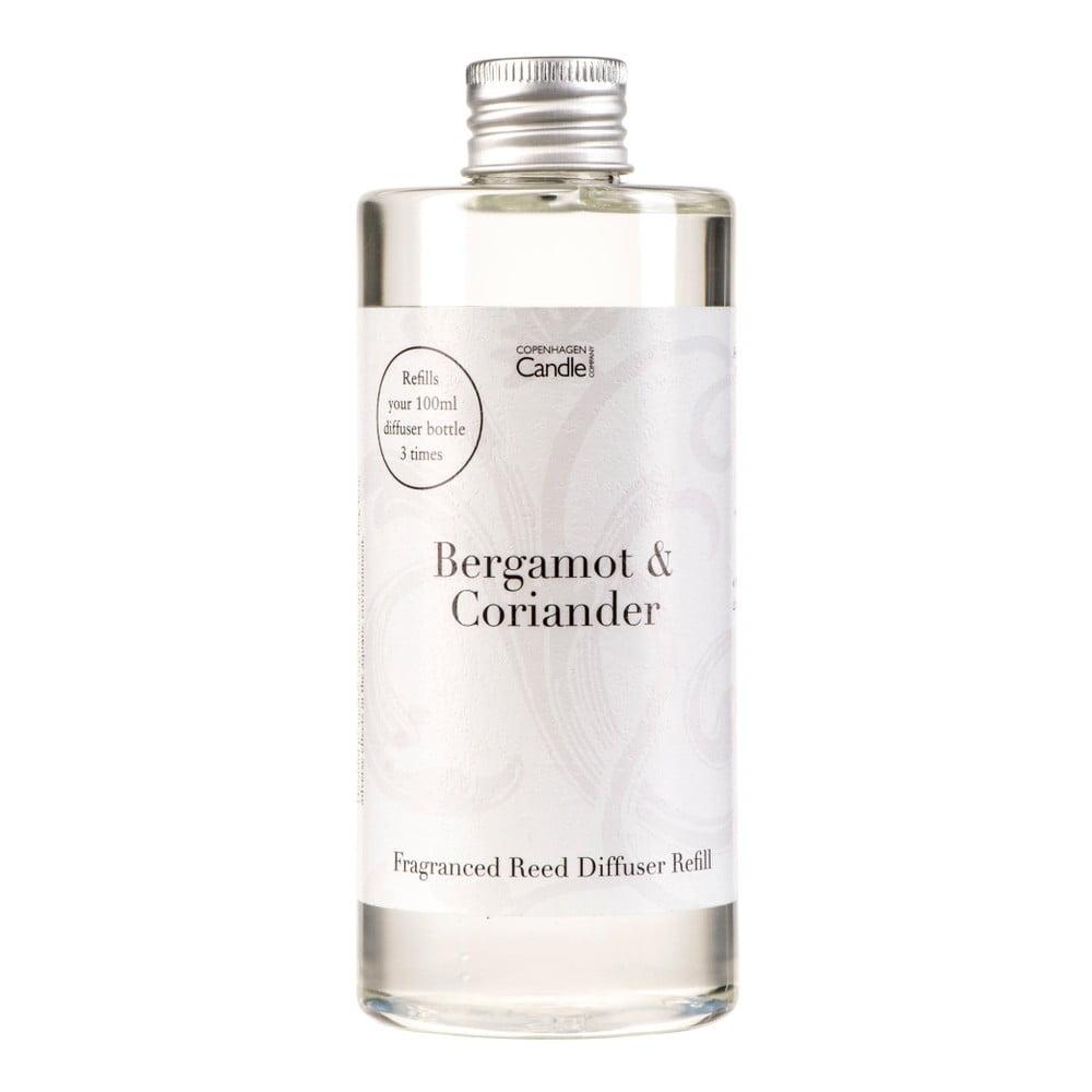 Náplň do aroma difuzéru s vůní bergamotu a koriandru Copenhagen Candles, 300 ml
