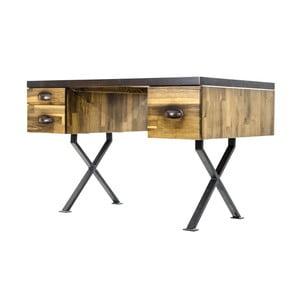 Pracovní stůl z borovicového dřeva Maliari