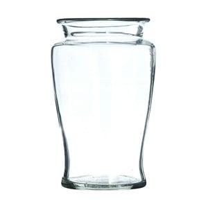 Skleněná váza Clear, 20 cm