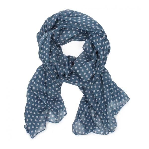 Šátek Polka Dot Soft Blue