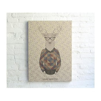 Tablou Really Nice Things Dear Hipster, 70 x 50 cm