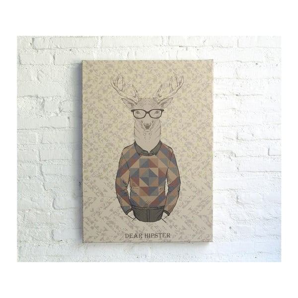 Dear Hipster kép, 70 x 50 cm - Really Nice Things