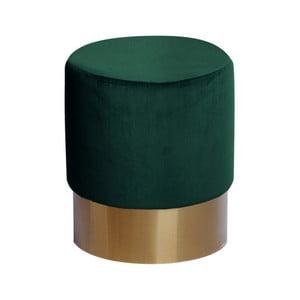 Tmavě zelená stolička 360 Living Petito Rundo