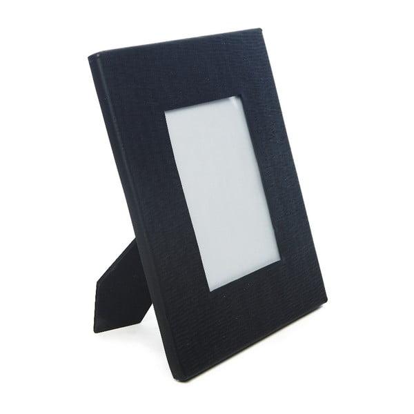Matt fekete képkeret, 10 x 15 cm - Simla