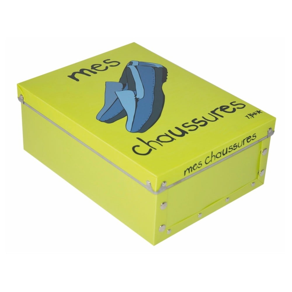 Zelená krabice na pánské boty Incidence Mes Chaussures  e97bff113d