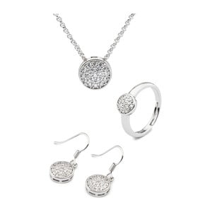 Set náušnic, náhrdelníku a prstenu  Versalles