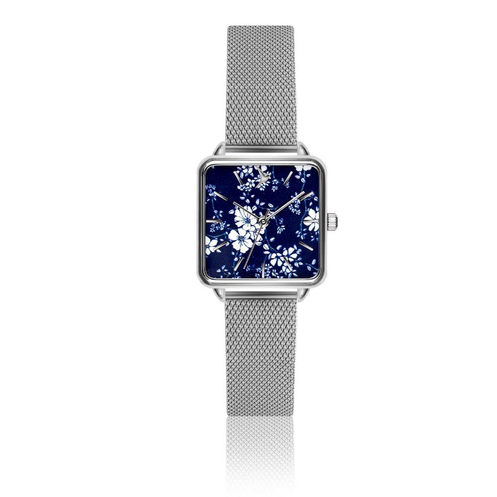 Dámské hodinky s páskem z nerezové oceli ve stříbrné barvě Emily Westwood  Square bf8d0c2d03
