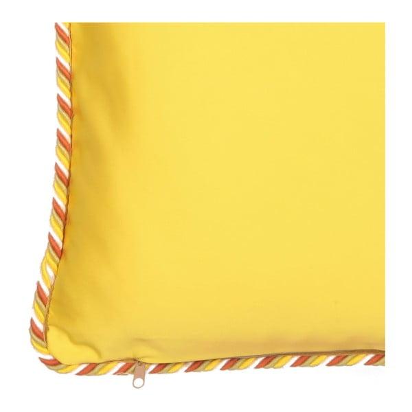Pernă cu 2 fețe Kate Louise Farso, 45 x 45 cm, verde-galben