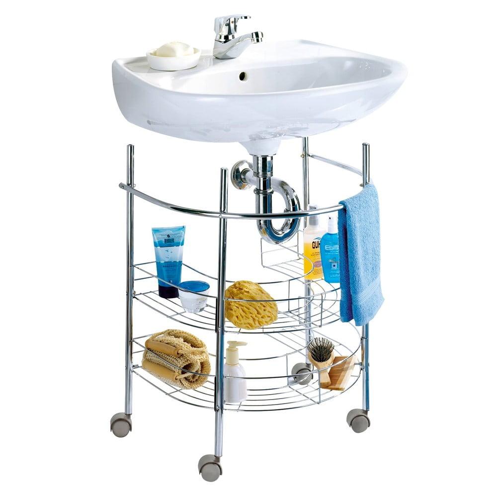 Police pod umyvadlo wenko storage bonami for Accesorios para lavabo