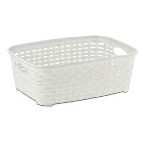 Bílý plastový košík Kela Raio