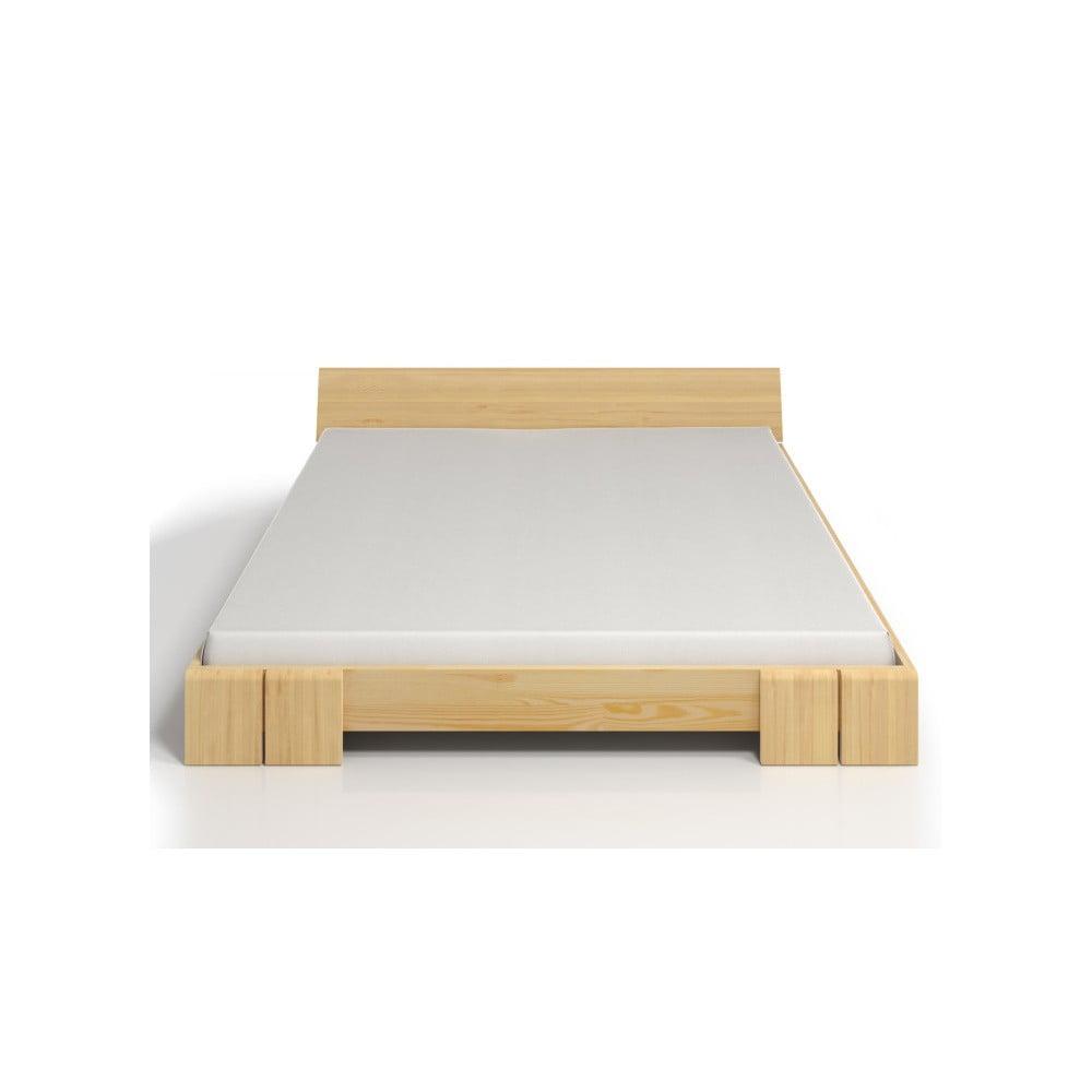 Fotografie Dvoulůžková postel z borovicového dřeva SKANDICA Vestre, 140x200cm