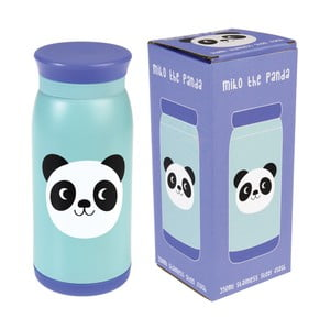 Sticlă din inox Rex London Miko the Panda, 350 ml