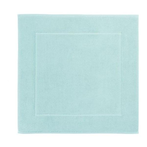 Mentolově zelená koupelnová předložka z egyptské bavlny Aquanova London, 60x60cm