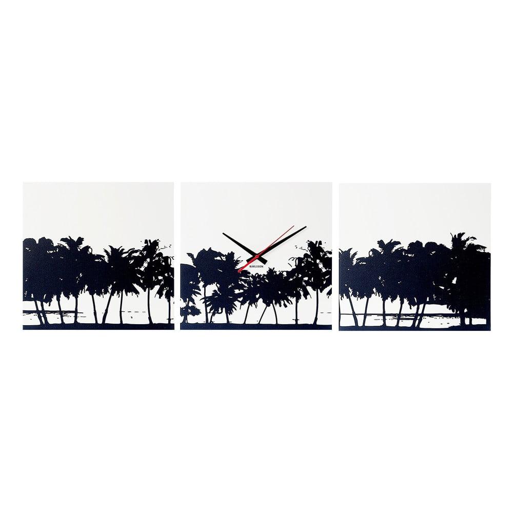 Nástěnné hodiny Karlsson Beach Skyline