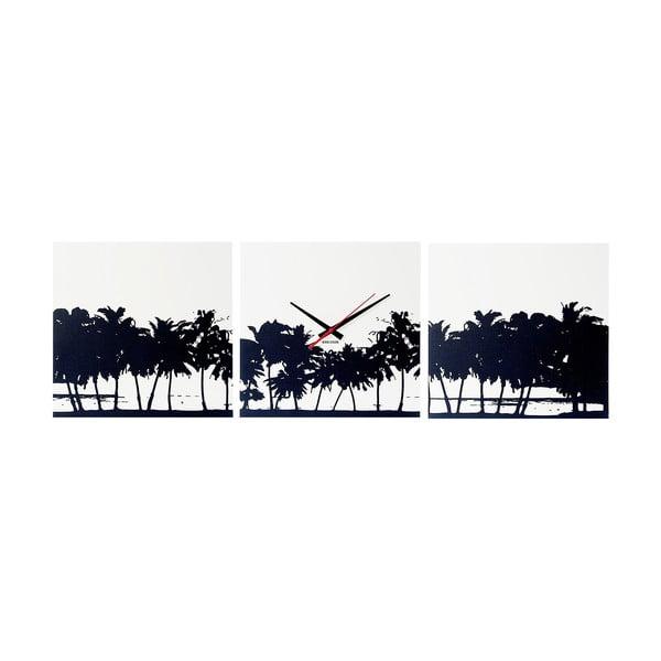 Nástěnné hodiny Beach Skyline