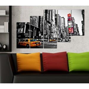 5dílný obraz New York