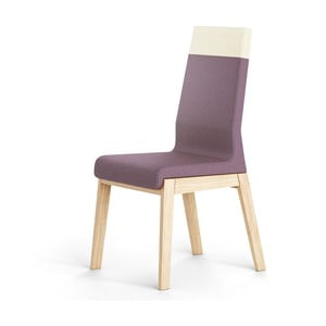 Tmavě fialová židle z dubového dřeva Absynth Kyla Two